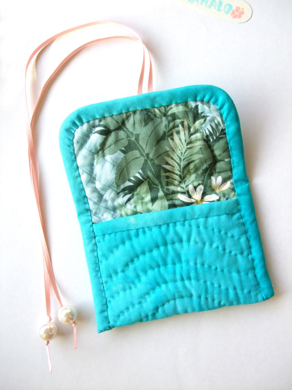 Hawaiian Quilt アクセサリーケース