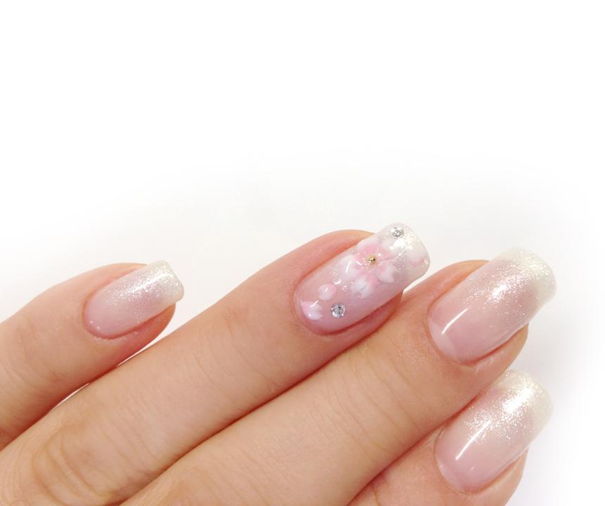 ジェルネイル 桜